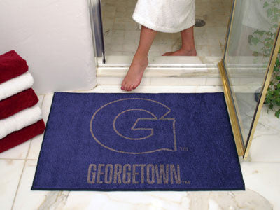 Georgetown  Hoyas All Star Mat - FanMats 4514 Georgetown  Interior Door Mats