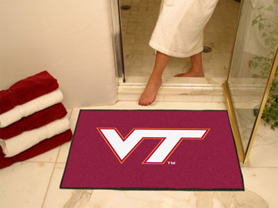 The VT Hokies All Star Mat - Fan Mats 4586