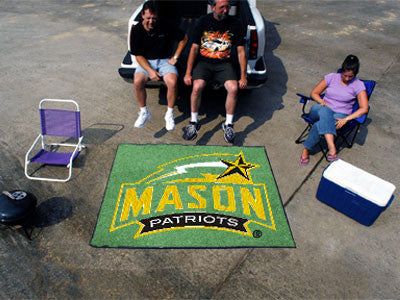 George Mason  Patriots Tailgater Rug - The FanMats 4707 Tailgating Mat