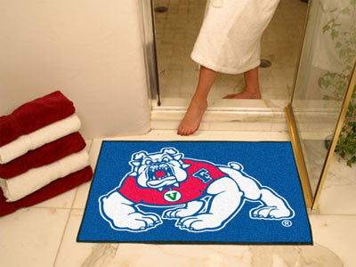 Fresno State Bulldogs All Star Mat - FanMats 4888 Fresno State Interior Door Mats