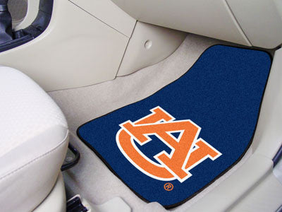 The Auburn  Tigers 2 Piece Carpeted Auburn University Car Floor Mat Set - FanMats 5079