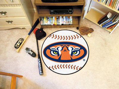 The Auburn  Tigers Baseball Mat - Fan Mats 5140