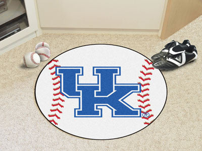 The UK Wildcats UK Logo Baseball Mat - Fan Mats 5161