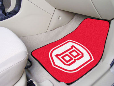 The Bradley Braves 2 Piece Carpeted Bradley University Car Floor Mat Set - FanMats 5197