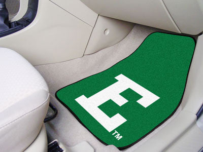 The EMU Eagles 2 Piece Carpeted Eastern Michigan University Car Floor Mat Set - FanMats 5229