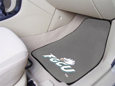 The FGCU Eagles 2 Piece Carpeted Florida Gulf Coast University Car Floor Mat Set - FanMats 5235