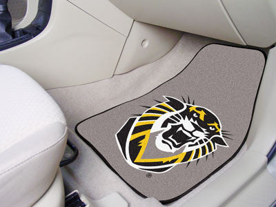 The FHSU Tigers 2 Piece Carpeted Fort Hays State University Car Floor Mat Set - FanMats 5238