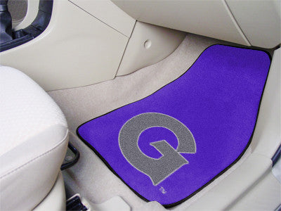 The Georgetown  Hoyas 2 Piece Carpeted Georgetown University Car Floor Mat Set - FanMats 5243