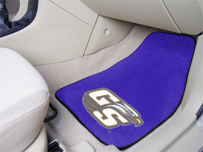 The Georgia Southern  Eagles 2 Piece Carpeted Georgia Southern University Car Floor Mat Set - FanMats 5245