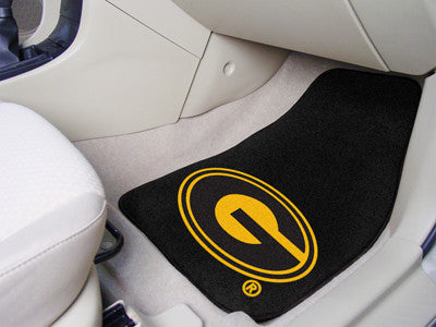 The GSU Tigers 2 Piece Carpeted Grambling State University Car Floor Mat Set - FanMats 5247