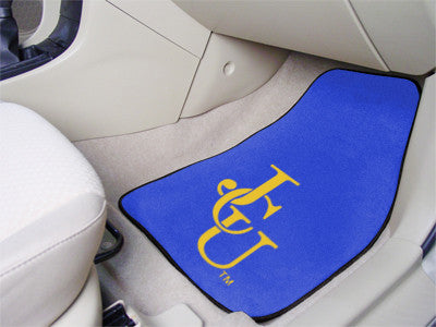 The JCU Blue Streaks 2 Piece Carpeted John Carroll University Car Floor Mat Set - FanMats 5258