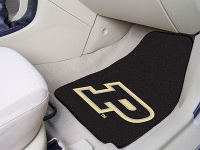The Purdue  Boilermakers 2 Piece Carpeted Purdue University Car Floor Mat Set - FanMats 5302