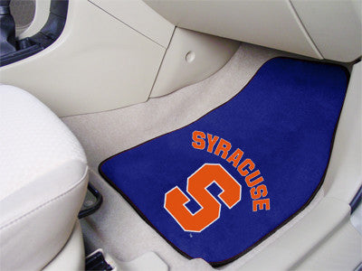 The Syracuse  Orange 2 Piece Carpeted Syracuse University Car Floor Mat Set - FanMats 5321