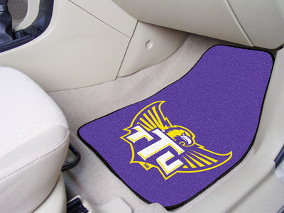 The TTU Golden Eagles 2 Piece Carpeted Tennessee Technological University Car Floor Mat Set - FanMats 5325