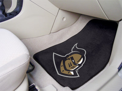 The UCF Knights 2 Piece Carpeted University of Central Florida Car Floor Mat Set - FanMats 5438