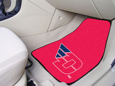 The Daton Flyers 2 Piece Carpeted University of Dayton Car Floor Mat Set - FanMats 5441