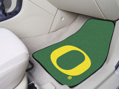The Oregon Ducks 2 Piece Carpeted University of Oregon Car Floor Mat Set - FanMats 5474