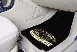 The UWM Panthers 2 Piece Carpeted University Of Wisconsin-Milwaukee Car Floor Mat Set - FanMats 5494
