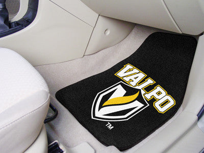 The Valpo Crusaders 2 Piece Carpeted Valparaiso University Car Floor Mat Set - FanMats 5504