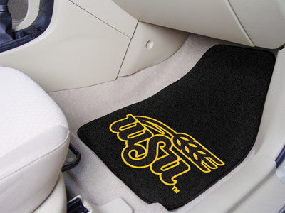 The Wichita State  Shockers 2 Piece Carpeted Wichita State University Car Floor Mat Set - FanMats 5516