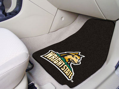 The Wright State  Raiders 2 Piece Carpeted Wright State University Car Floor Mat Set - FanMats 5519