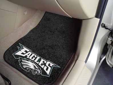 Philadelphia Eagles Carpet Car Floor Mat Set - FanMats 5820
