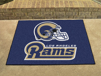 Rams All-Star Mat for Los Angeles Ram NFL Football Fans