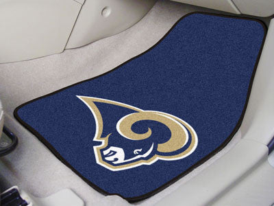 Los Angeles Rams Carpet Car Floor Mat Set - FanMats 5840