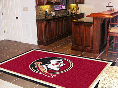 The FSU Seminoles Area Rug Size 5x8, Fan Mats 6281