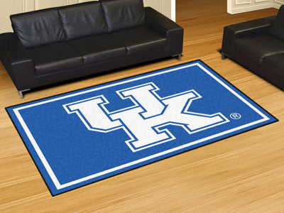 The UK Wildcats UK Logo Area Rug Size 5x8, Fan Mats 6288