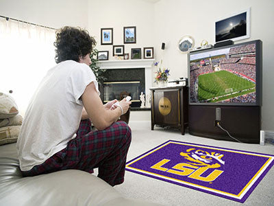 LSU Tigers 4' x 6' Area Rug - FanMats 6290