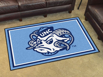 The UNC Tar Heels 5x8 Area Rug - FanMats 6296