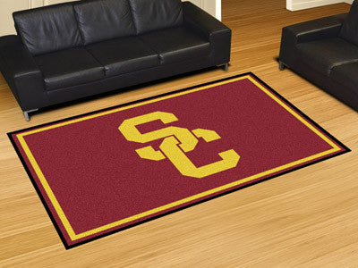 The USC Trojans Area Rug Size 5x8, Fan Mats 6305