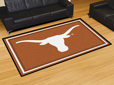 The UT Longhorns Area Rug Size 5x8, Fan Mats 6309