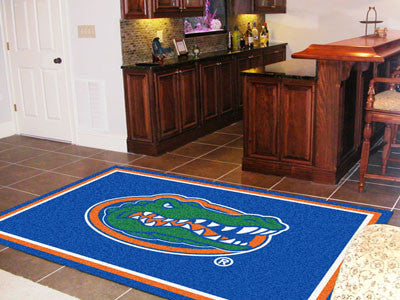The UF Gators Area Rug Size 5x8, Fan Mats 6310