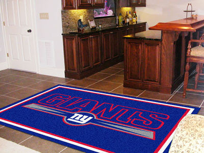 The 5x8 New York Area Rug for Giants Man Caves