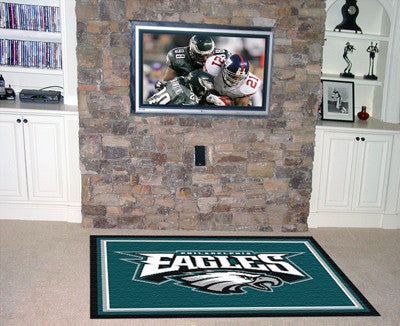 The 5x8 Philadelphia Area Rug for Eagles Man Caves