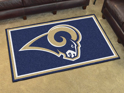 The Los Angeles Rams NFL 4Ft x 6Ft Area Rug - FanMats 6608