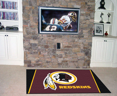 The 5x8 Washington Area Rug for Redskins Man Caves