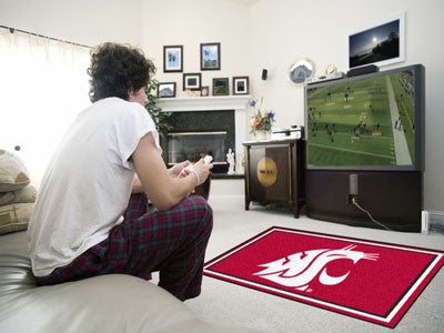 WSU Cougars 4' x 6' Area Rug - FanMats 6786