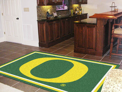 The Oregon Ducks Area Rug Size 5x8, Fan Mats 6789