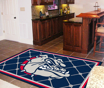 The Gonzaga Bulldogs Area Rug Size 5x8, Fan Mats 6792