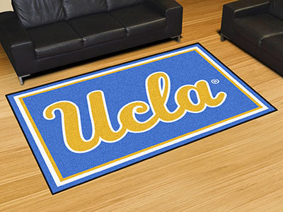 The UCLA Bruins Area Rug Size 5x8, Fan Mats 6820