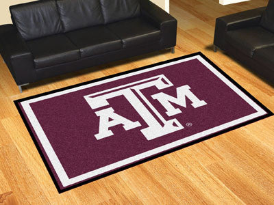 The TAMU Aggies Area Rug Size 5x8, Fan Mats 6822