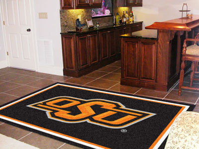 The OSU Cowboys Area Rug Size 5x8, Fan Mats 6908