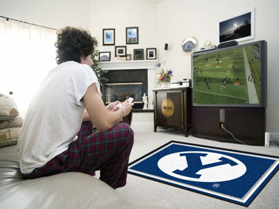 BYU Cougars 4' x 6' Area Rug - FanMats 6986