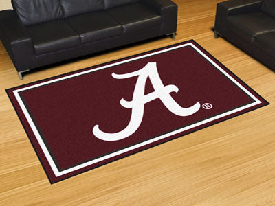 The Bama Crimson Tide Area Rug Size 5x8, Fan Mats 7528