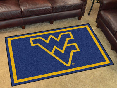 WVU Mountaineers 4' x 6' Area Rug - FanMats 8787