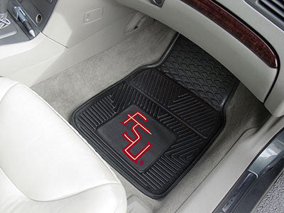 The FSU Seminoles Vinyl Automotive Car Floor Mat Set - Fan Mats 8910