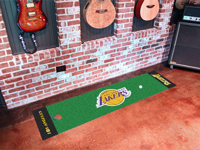 NBA - Los Angeles Lakers Man Cave Golfing Putting Green Runner